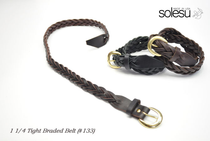 "Sole Survivor 11/4""Tight Brouded Belt (#133)"