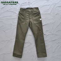 SASSAFRAS Fall Leaf Pants(Back Satin)