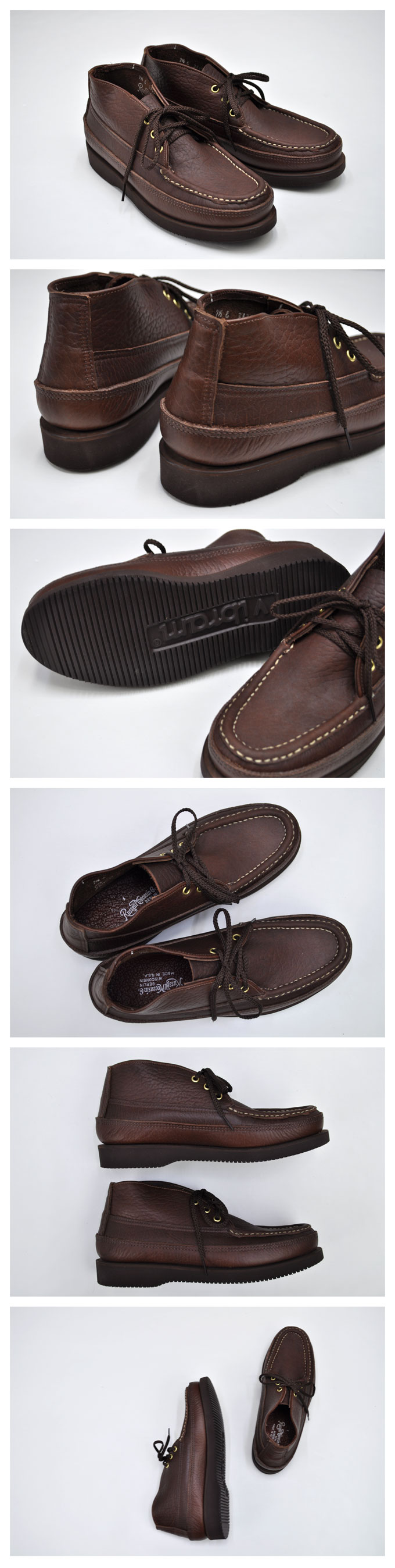 RUSSELL MOCCASIN Sporting Crays Chukka(Weather Tuff)【返品・交換不可】