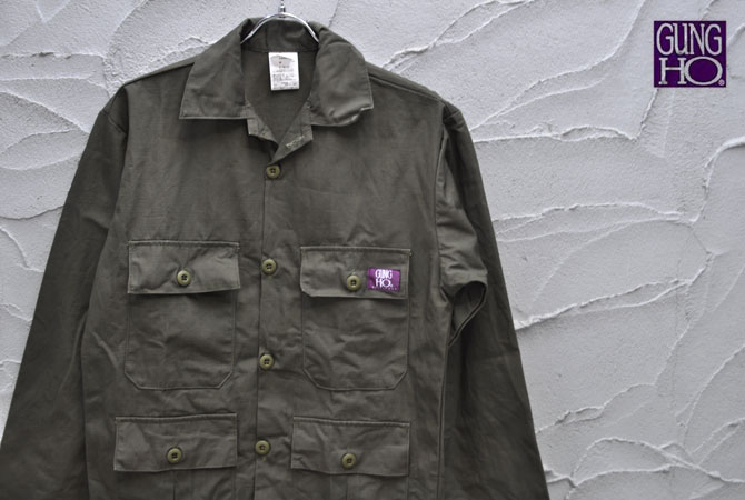 GUNG HO 4Pocket Military Jacket