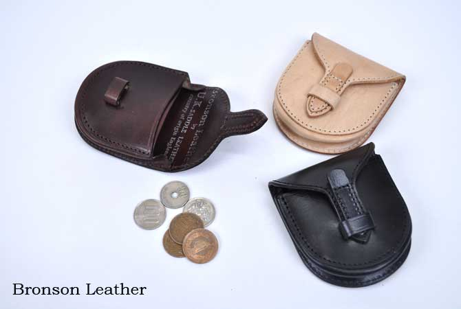 Bronson Leather Coin Case
