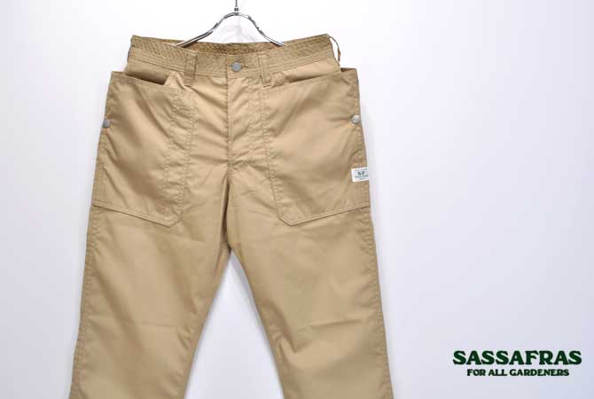 SASSAFRAS Fall Leaf Pants(T/C Weather)