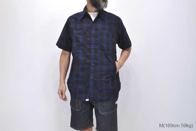 SASSAFRAS Feel Sun Shirt 1/2(Oxford)