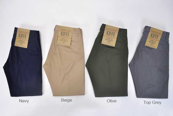 Kiffe Seargeant Narrow Trousers
