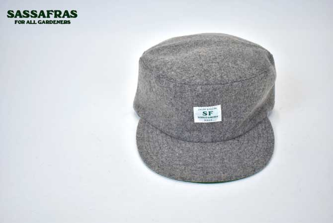 SASSAFRAS Seeds Box Cap(Wool)