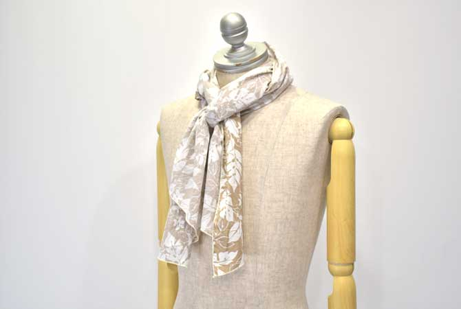 ENGINEERED GARMENTS Long Scarf (Floral Printed Lawn)