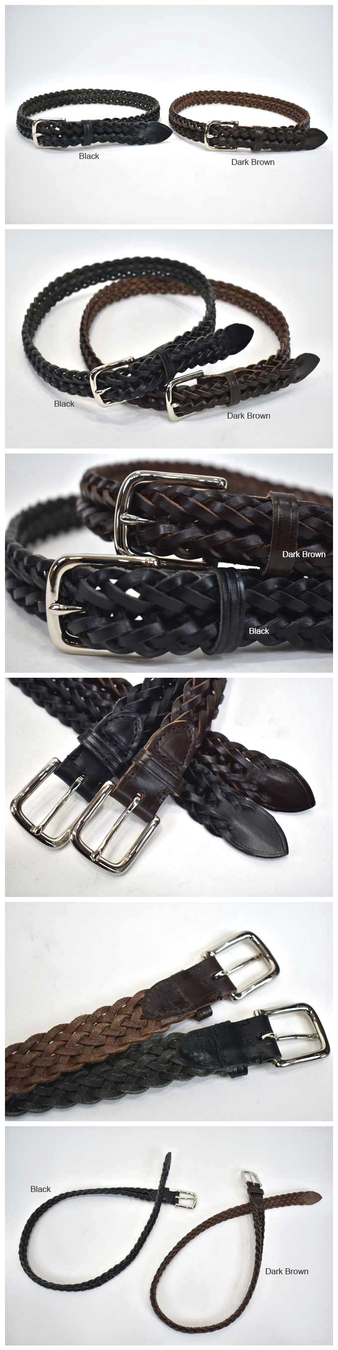 Whitehouse Cox  P-2274 Planted Belt (Cow Hide/28mm)