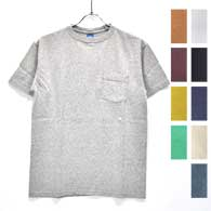 GOOD ON S/S Crew Neck Pocket T-Shirts
