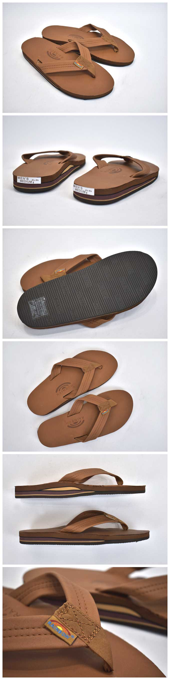 Rainbow Sandals Classic Leather(302Alts Double Layer)