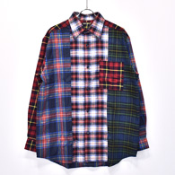 Bohemians L/S Shirt(Mix Check)