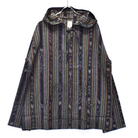 South2 West8 Mexican Parka (Cotton Cloth / Ikat Pattern)