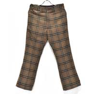 Needles F.P.Boot-cut Trouser(Plaid Tweed)