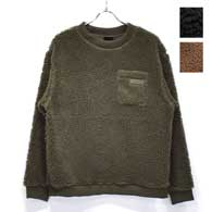 WILD THINGS Fluffy Boa L/S Crew